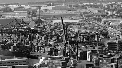 El port de Barcelona. Exportacions CatalanesBin