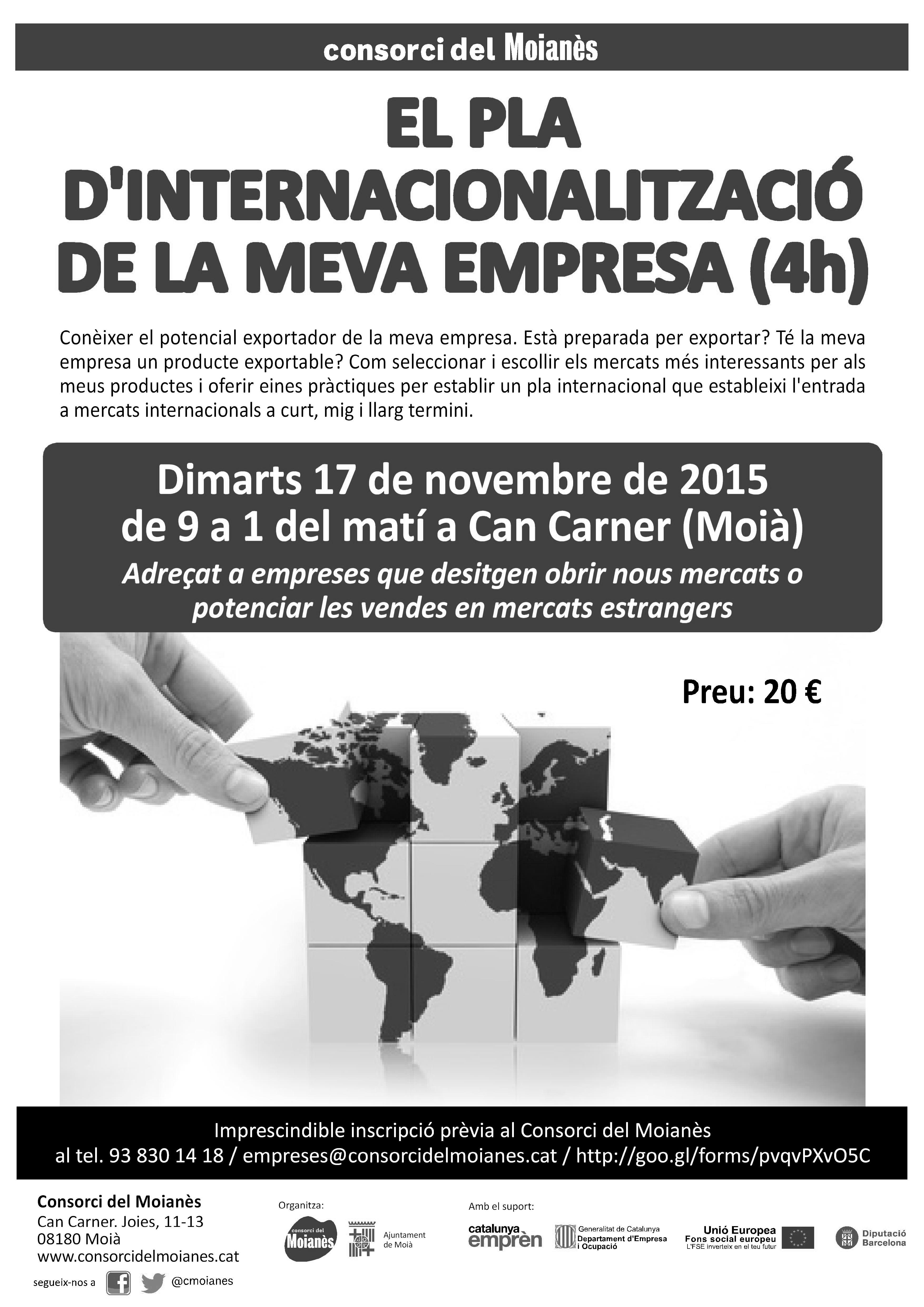 Seminari internacionalitzacio ITC Consorci Moianes bin